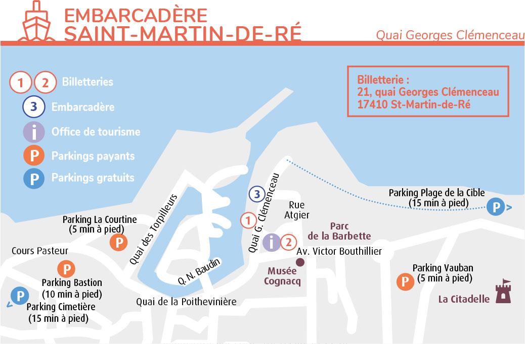 plan embarcadre larochelle navette maritime port